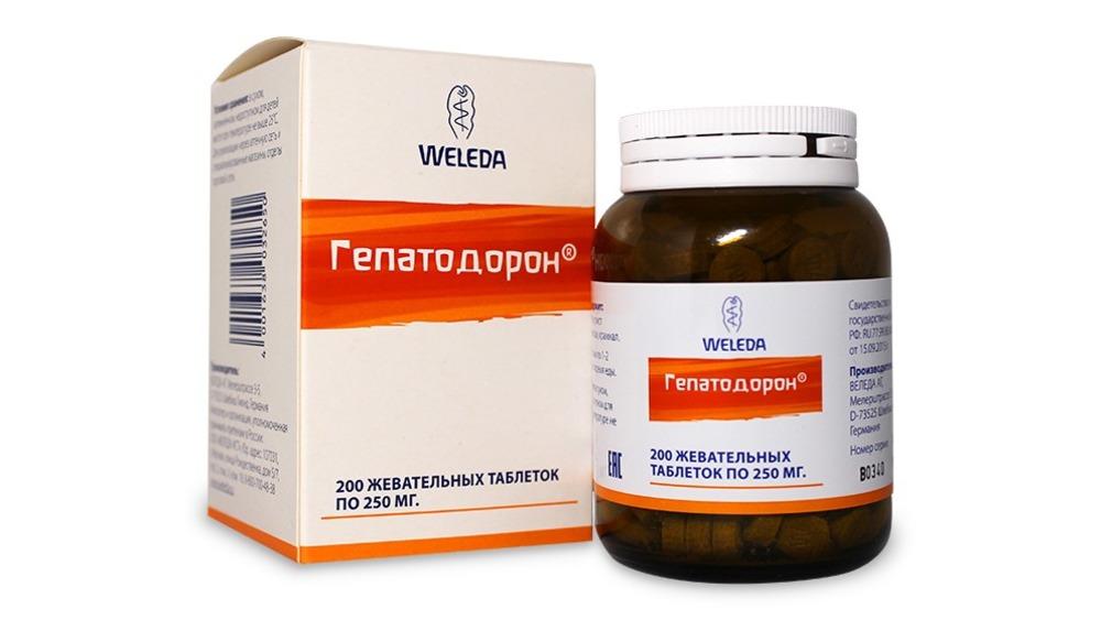 Weleda Гепатодорон №200 (Weleda, Лекарственные
