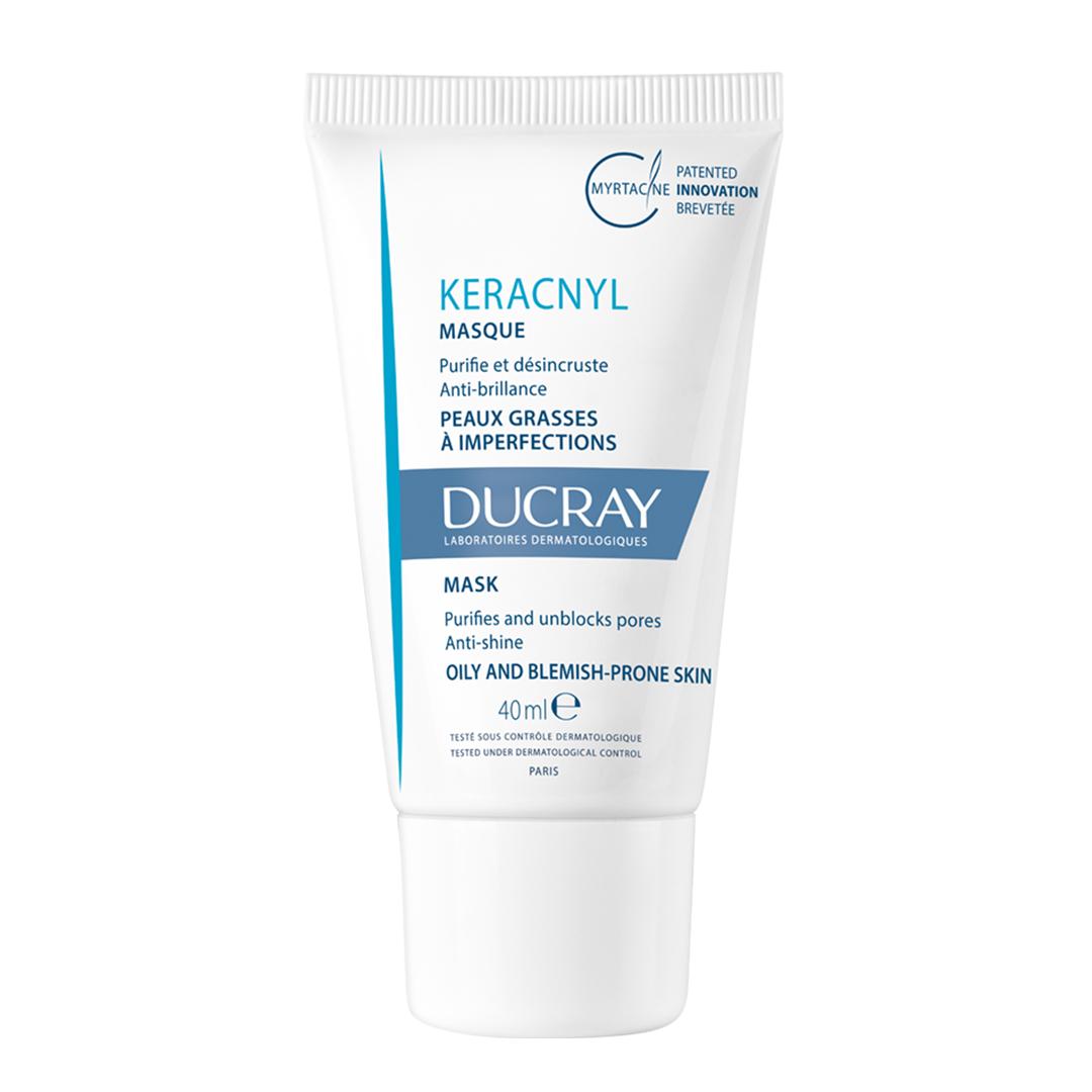 Ducray Керакнил Очищающая маска 40 мл (Ducray, Проблемная кожа лица) ducray неоптид лосьон от выпадения волос для мужчин 100 мл