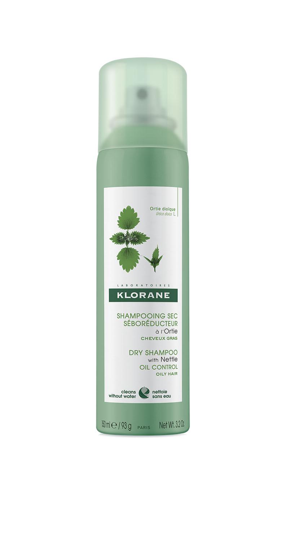 Купить Klorane Сухой шампунь с экстрактом крапивы 150 мл (Klorane, Oily Prone Hair), Франция
