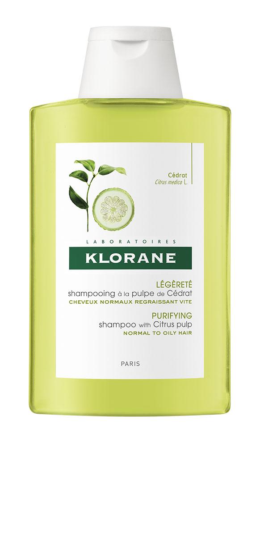Купить Klorane Тонизирующий шампунь с мякотью цитрона для блеска волос, 200мл (Klorane, Dull Hair), Франция