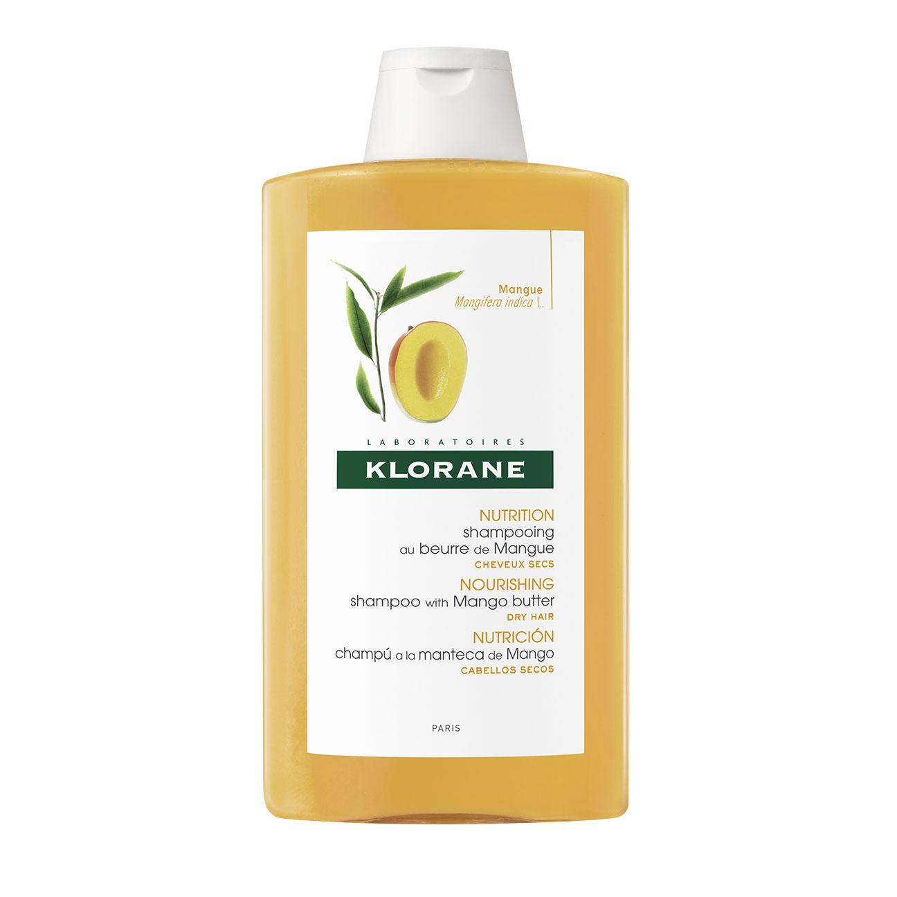 Купить Klorane Шампунь с маслом Манго для сухих, поврежденных волос 400мл (Klorane, Dry Hair), Франция