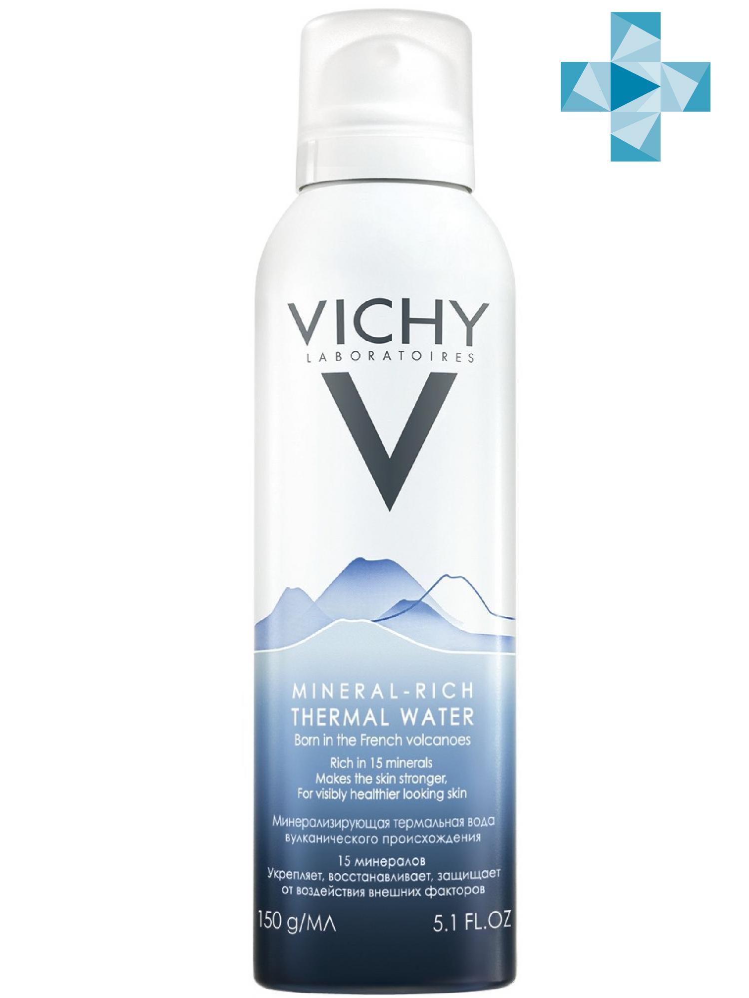 Vichy Термальная Вода Vichy Спа 150 мл (Vichy, Thermal Water Vichy)