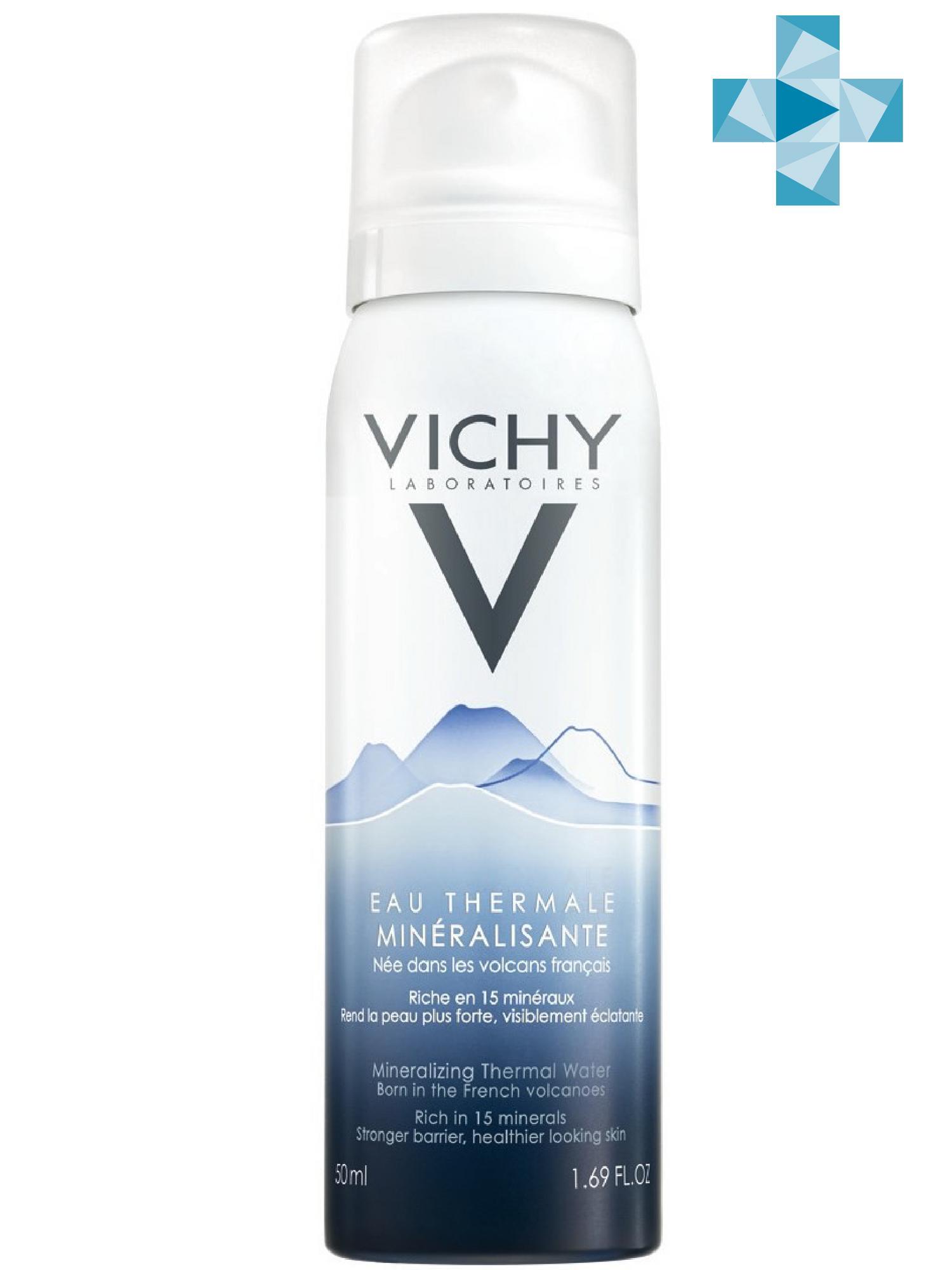 Vichy Термальная Вода Vichy Спа 50 мл (Vichy, Thermal Water Vichy) vichy 50ml