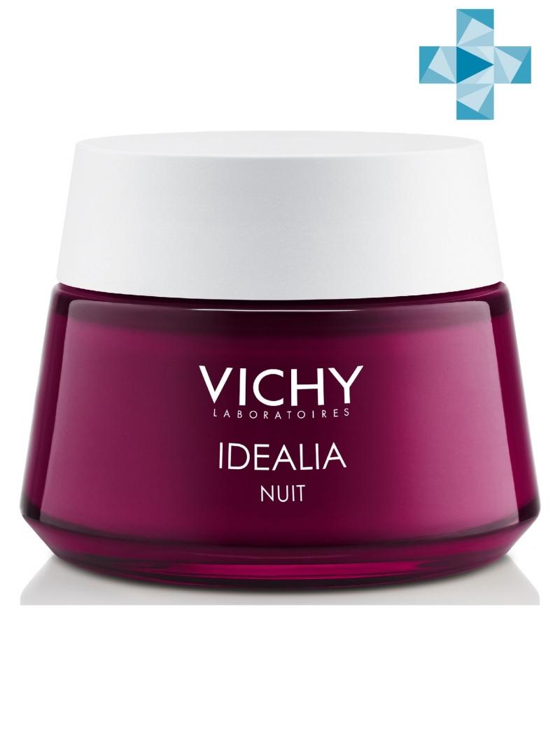 Vichy Идеалия Ночной Восстанавливающий уход 50 мл (Vichy, Idealia) vichy idealia serum
