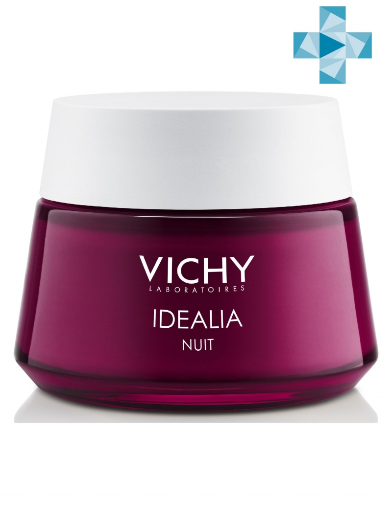 Vichy Идеалия Ночной Восстанавливающий уход 50 мл (Vichy, Idealia) фото