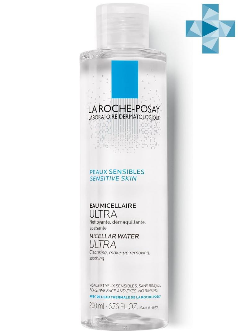 La Roche-Posay Мицеллярная вода для чувствительной кожи, 200 мл (La Roche-Posay, Physiological Cleansers) фото