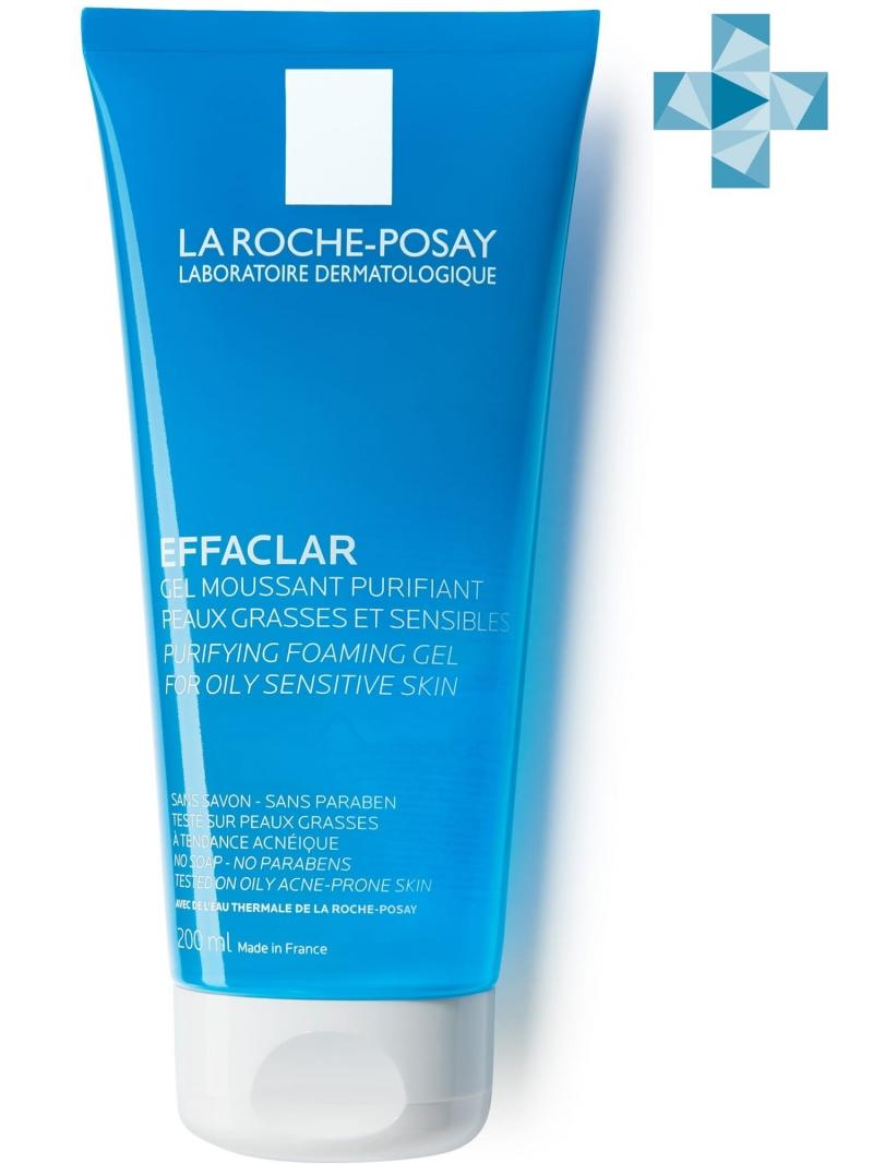 La Roche-Posay Эфаклар очищающий гель 200 мл (La Roche-Posay, Effaclar)