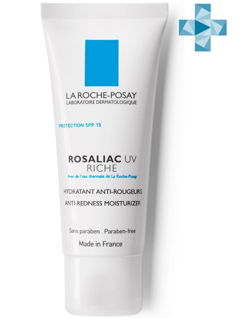 La Roche-Posay Розалиак UV Риш Увлажняющий крем для сухой кожи, склонной к покраснениям 40мл (La Roche-Posay, Rosaliac) фото