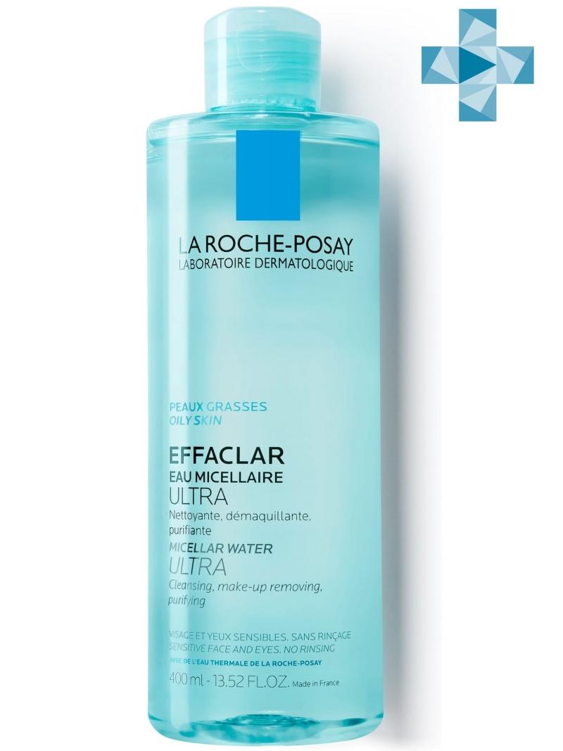 Мицеллярная вода Effaclar Ultra 400 мл (La RochePosay, Effaclar)