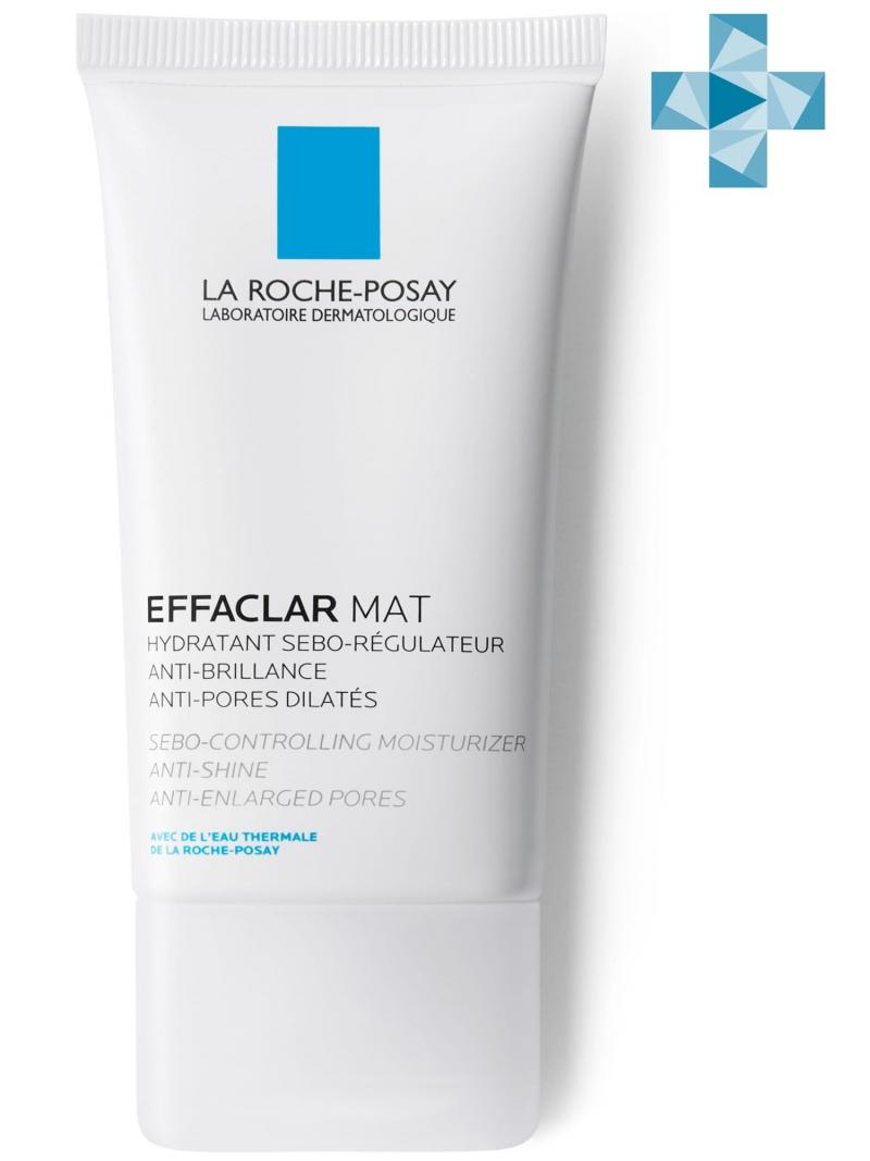 Купить La Roche-Posay Эмульсия увлажняющая матирующая для комбинированной и жирной кожи Эфаклар Мат, 40 мл (La Roche-Posay, Effaclar), Франция