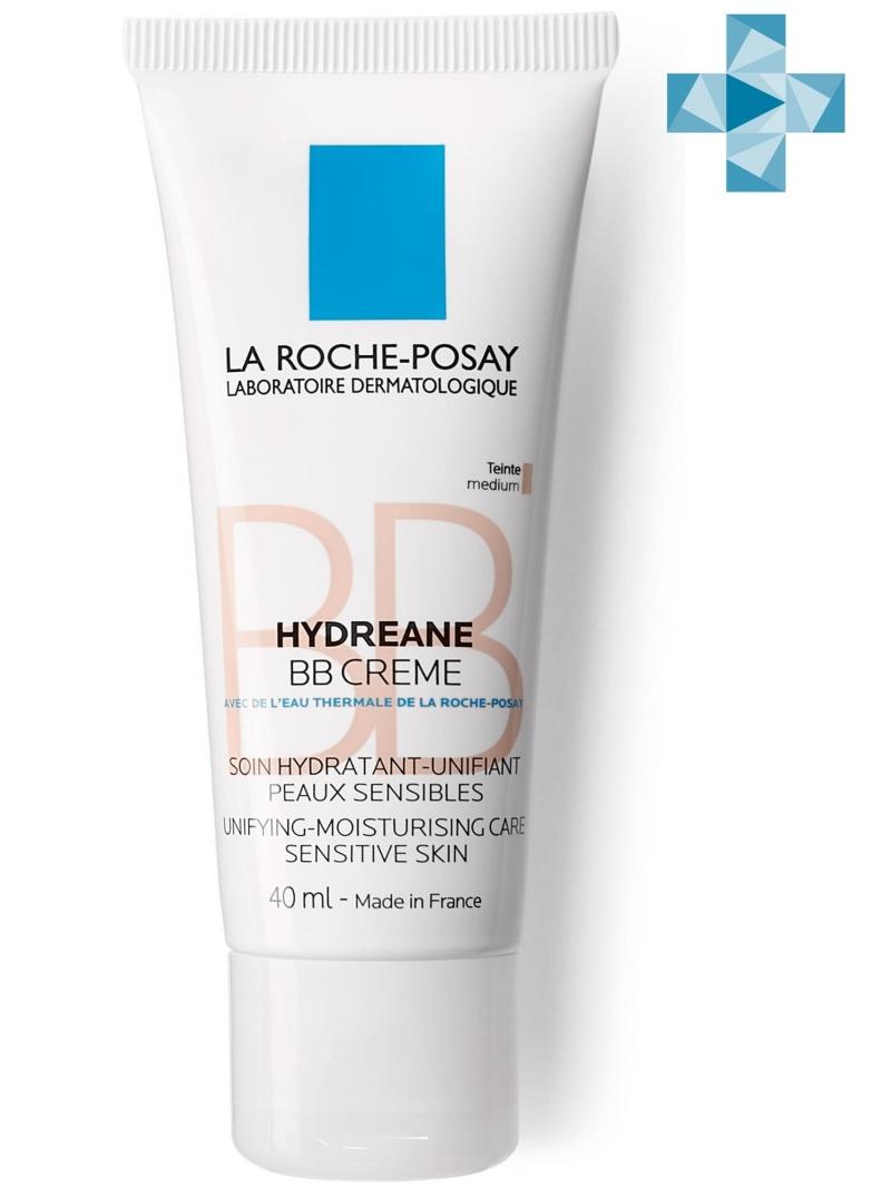 La Roche-Posay Гидриан ВВ крем Натурально-бежевый тон SPF20, 40 мл (La Roche-Posay, Hydreane) спф