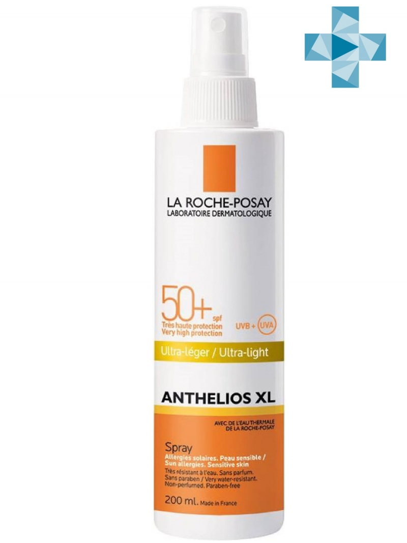 La Roche-Posay Спрей для лица и тела SPF 50+ 200 мл (La Roche-Posay, Anthelios)