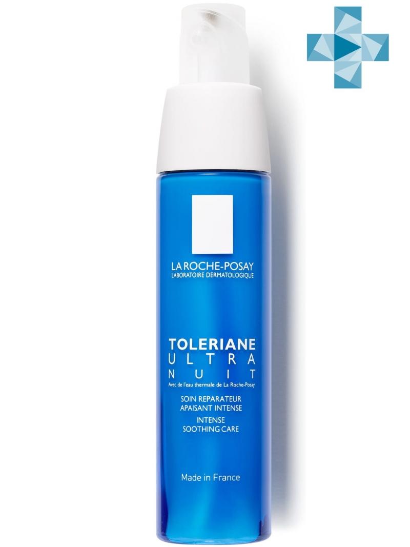 Толеран Ультра Ночной Уход 40 мл (La RochePosay, Toleriane) ночной уход для лица la roche posay toleriane толеран ультра 40 мл для чувст кожи