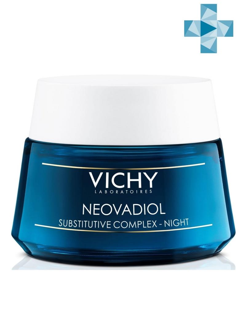 Vichy Неовадиол Компенсирующий комплекс ночной 50 мл (Vichy, Neovadiol) виши неовадиол ночной компенсирующий комплекс 50мл купить