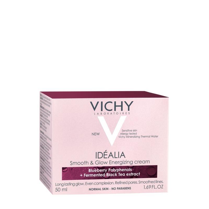 Идеалия Дневной кремуход для нормальной и комбинированной кожи 50 мл (Vichy, Idealia) набор 8 марта идеалия для нормальной кожи 50 мл крем для глаз 15 мл vichy idealia