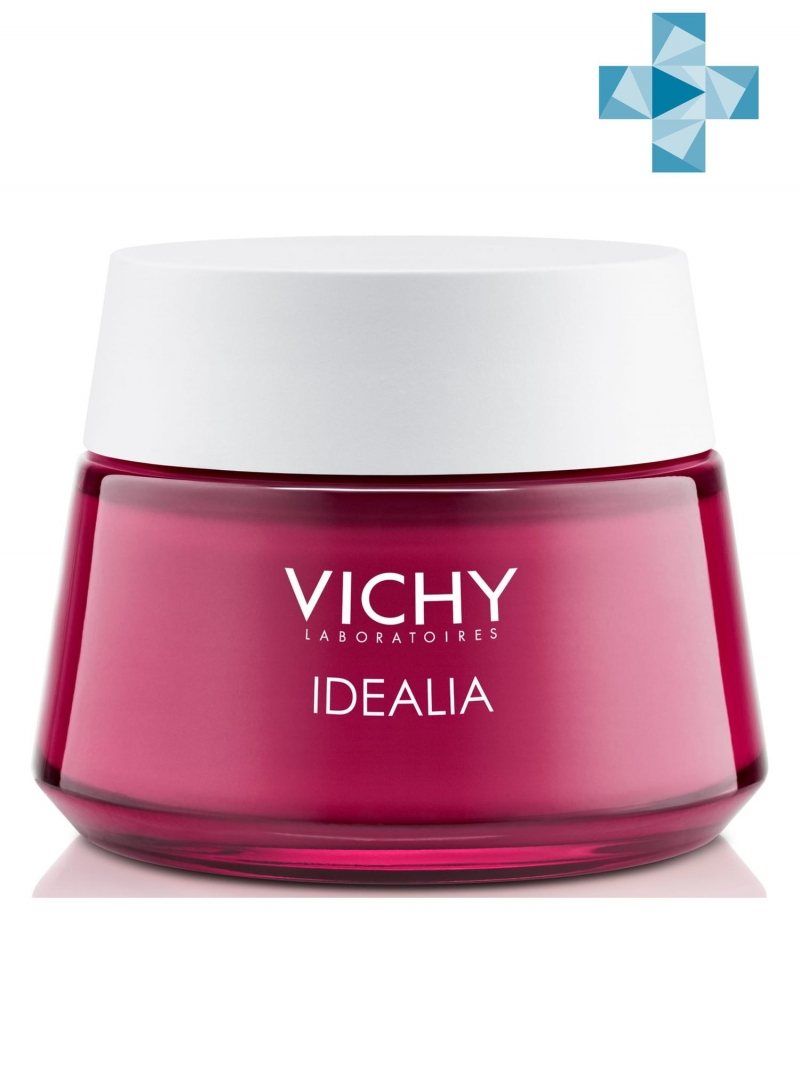 Vichy Идеалия Дневной крем-уход для нормальной и комбинированной кожи 50 мл (Vichy, Idealia) vichy idealia serum