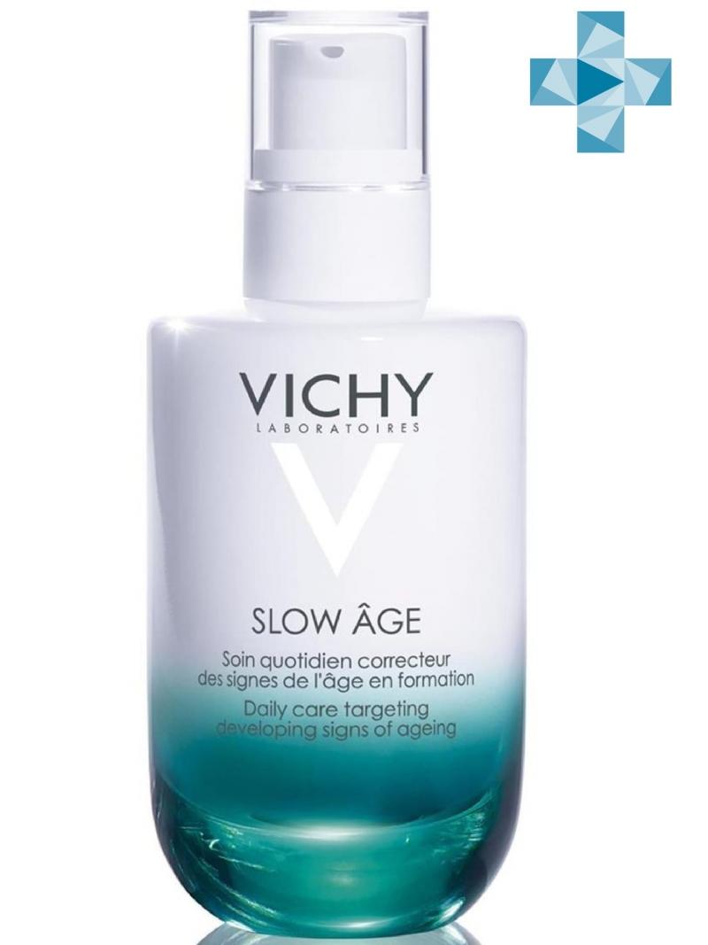 Купить Vichy Слоу Аж флюид для всех типов кожи 50 мл (Vichy, Slow Age), Франция