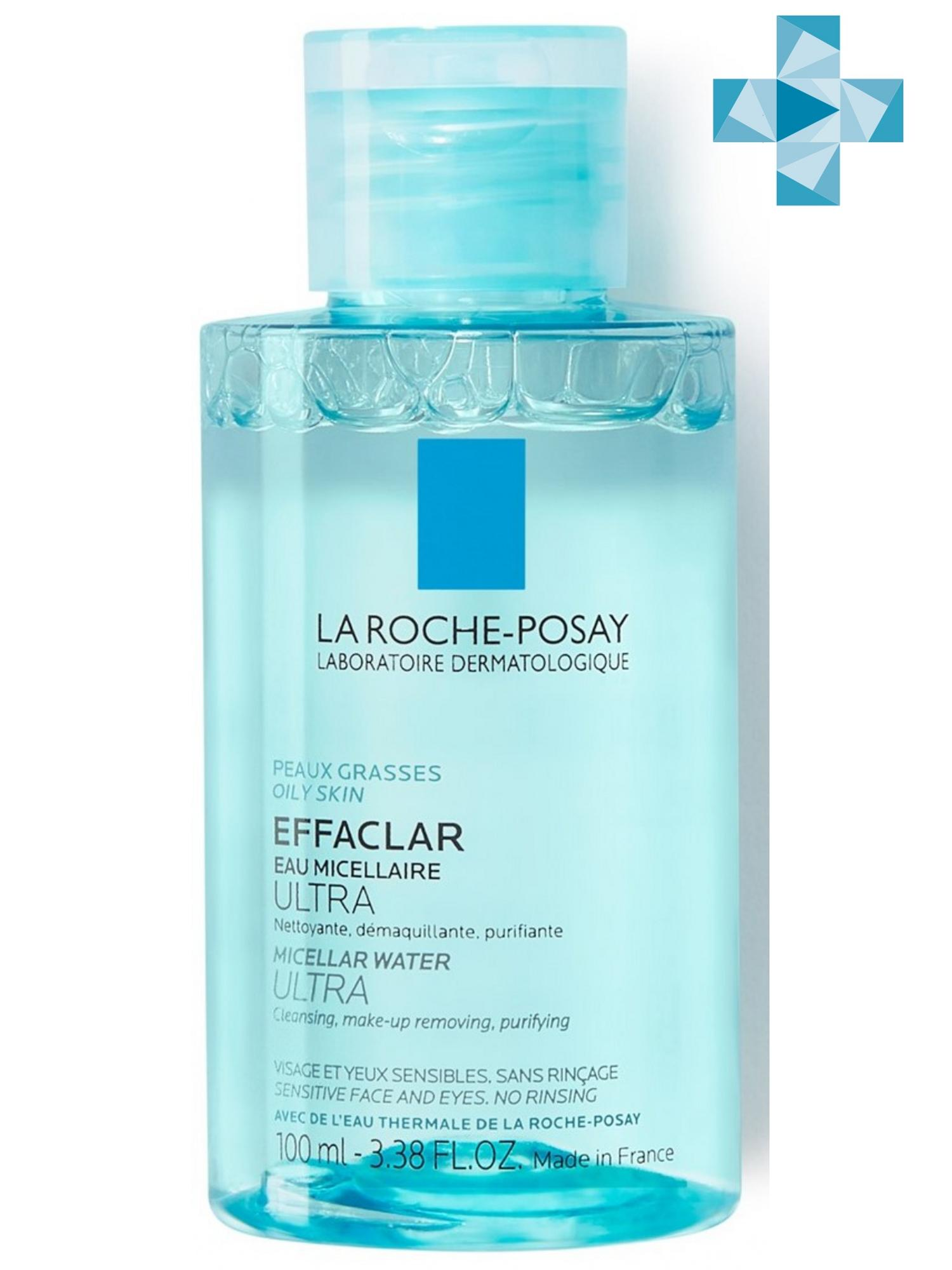 La Roche-Posay Мицеллярная вода Effaclar Ultra 100 мл (La Roche-Posay, Effaclar) la roche posay vitamin c10