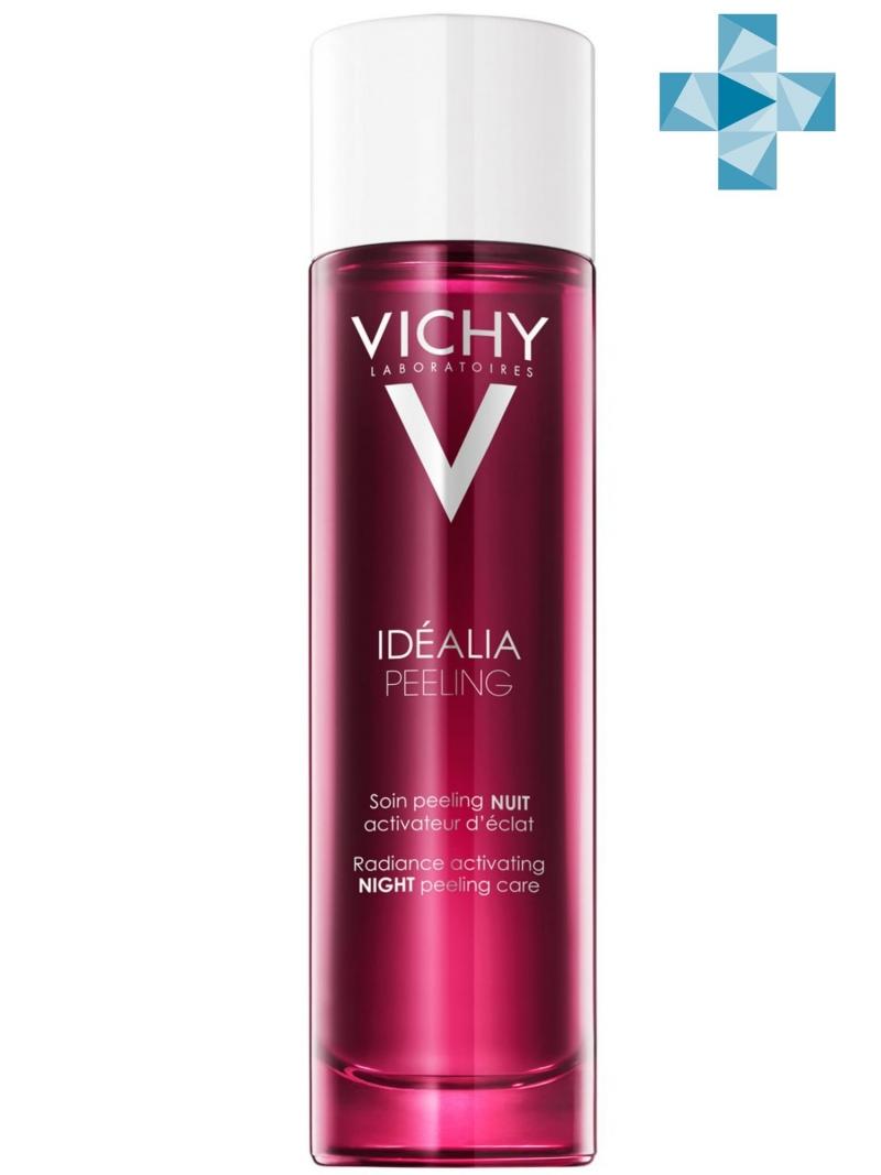 Идеалия Ночной пилинг 100 мл (Vichy, Idealia) идеалия про сыворотка корректирующая пигментные пятна 30 мл vichy idealia