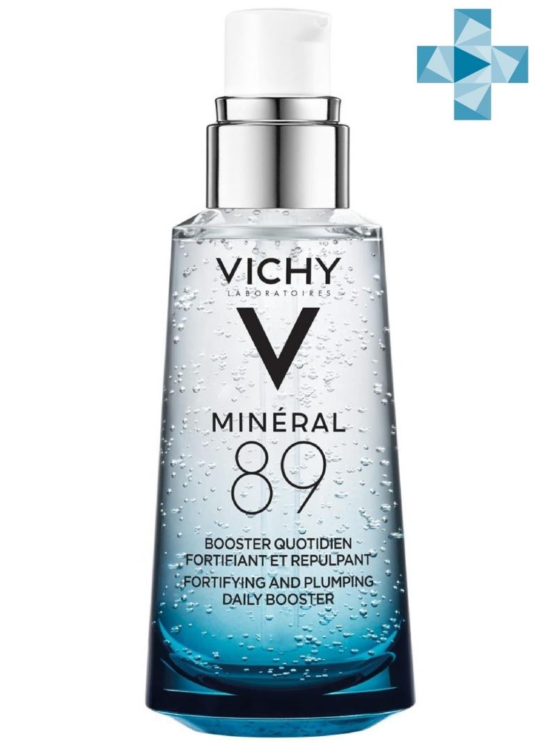 Vichy Ежедневный гель-сыворотка для кожи, подверженной внешним воздействиям Mineral 89, 50 мл (Vichy, Mineral 89), Франция  - Купить