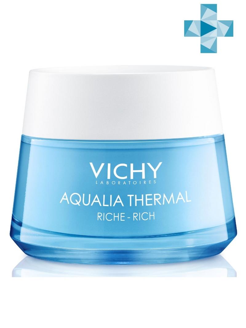 Купить Vichy Аквалия Термаль Насыщенный крем для сухой и очень сухой кожи, 50 мл (Vichy, Aqualia Thermal), Франция