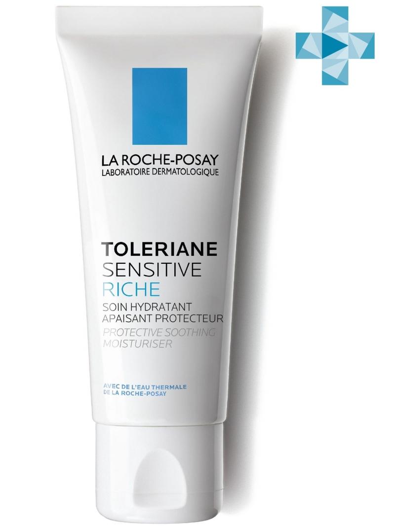 Насыщенный крем Толеран Сенситив 40 мл (La RochePosay, Toleriane)