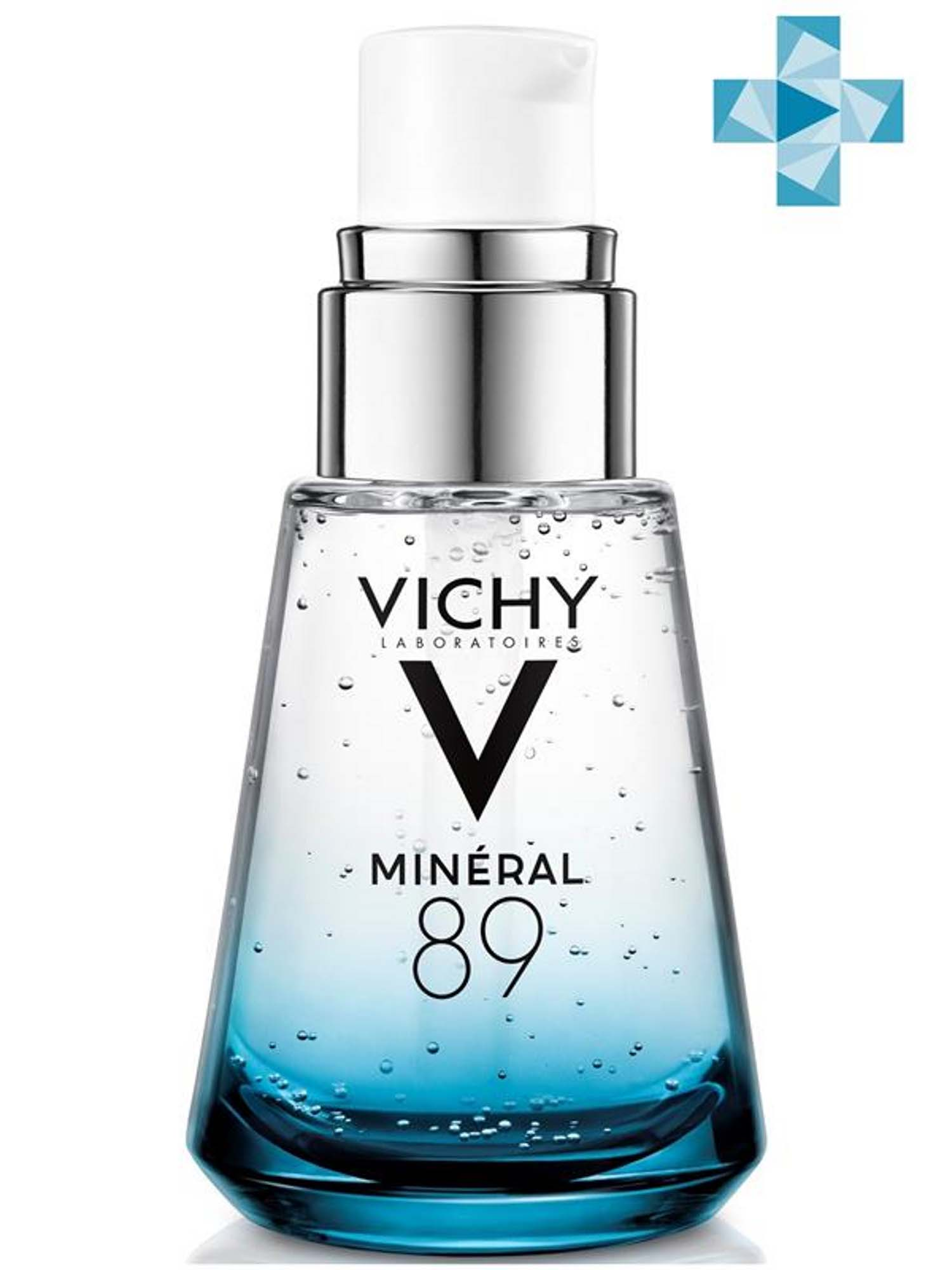 Купить Vichy Ежедневный гель-сыворотка для кожи, подверженной внешним воздействиям Mineral 89, 30 мл (Vichy, Mineral 89), Франция
