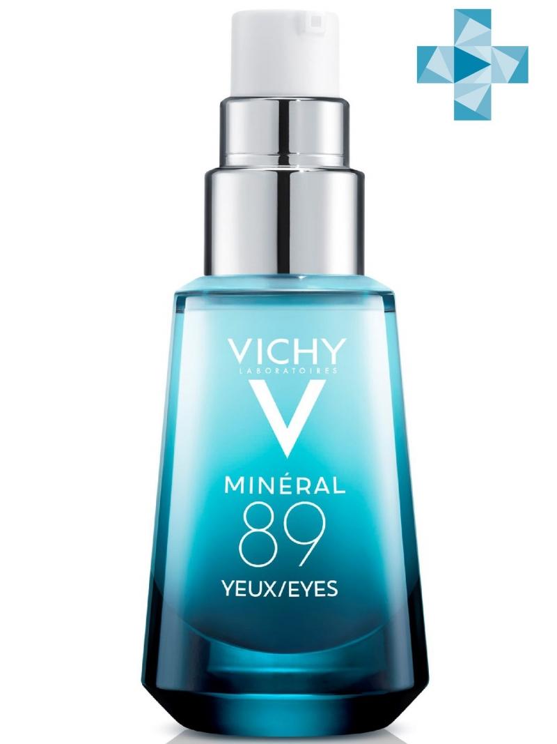 Купить Vichy Mineral 89 Восстанавливающий и укрепляющий уход для кожи вокруг глаз, 15 мл (Vichy, Mineral 89), Франция