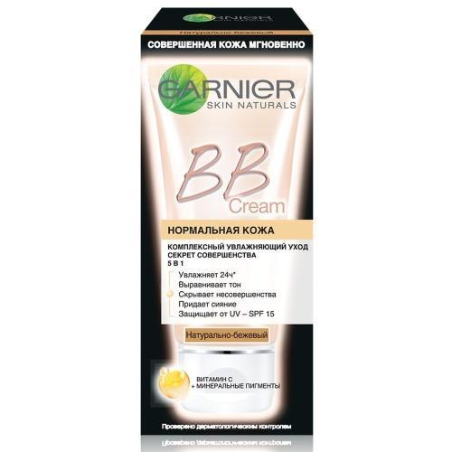 BBкрем Секрет Совершенства Натуральнобежевый 50мл (Garnier, BBкремы) bbкрем для жирной кожи секрет совершенства натуральный 40мл garnier bbкремы