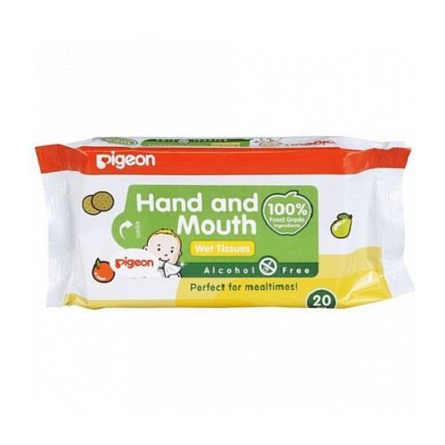 Pigeon Детские влажные салфетки 20 шт (Уход за малышом)