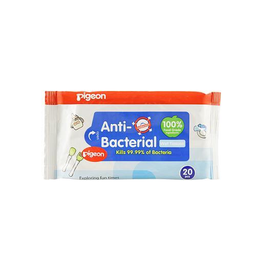 Детские влажные салфетки с антибактериальным эффектом 20 шт (Уход за малышом)