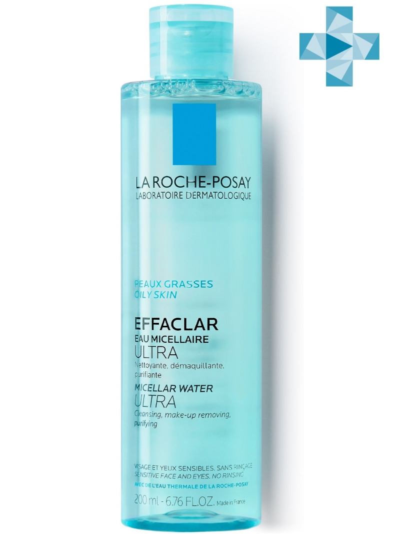 Мицеллярная вода Effaclar Ultra 200 мл (La RochePosay, Effaclar) effaclar цена