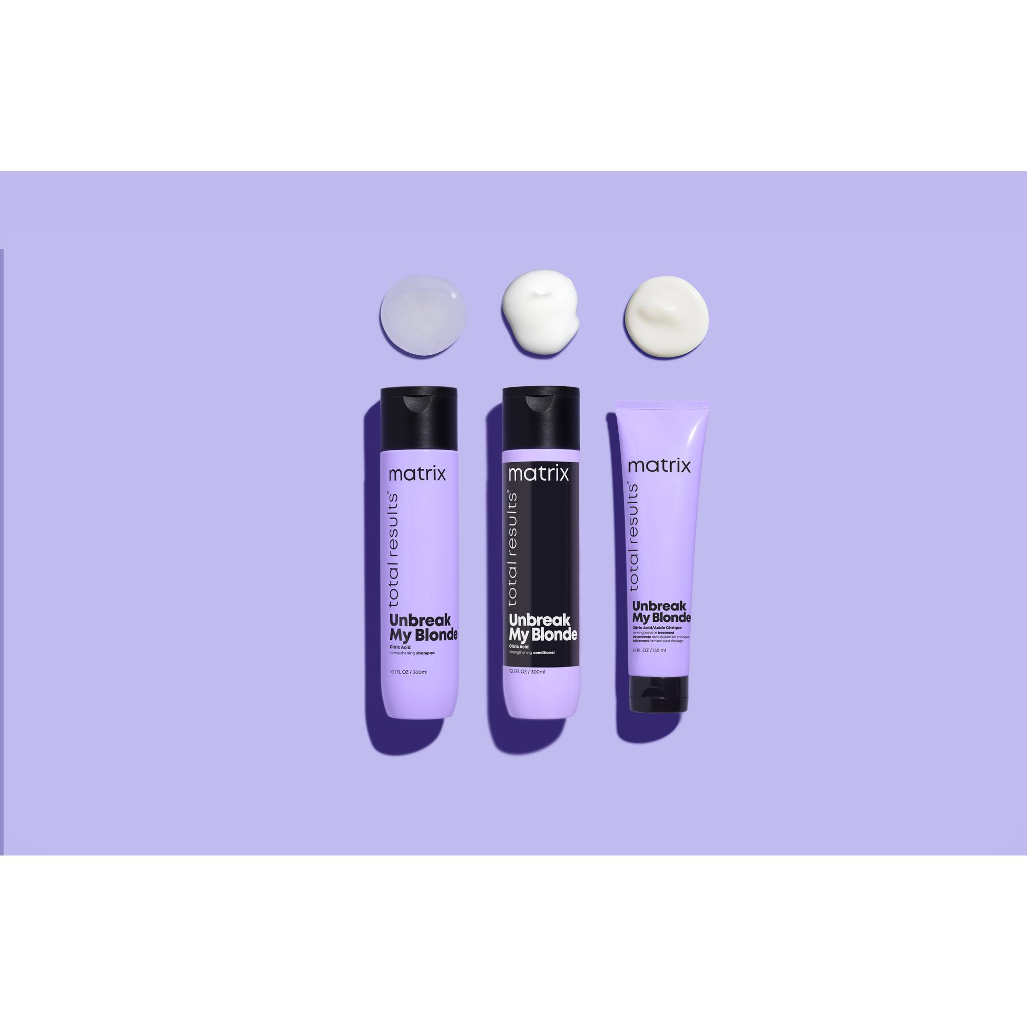Купить Matrix Укрепляющий кондиционер для осветленных волос, 300 мл (Matrix, Total results), США