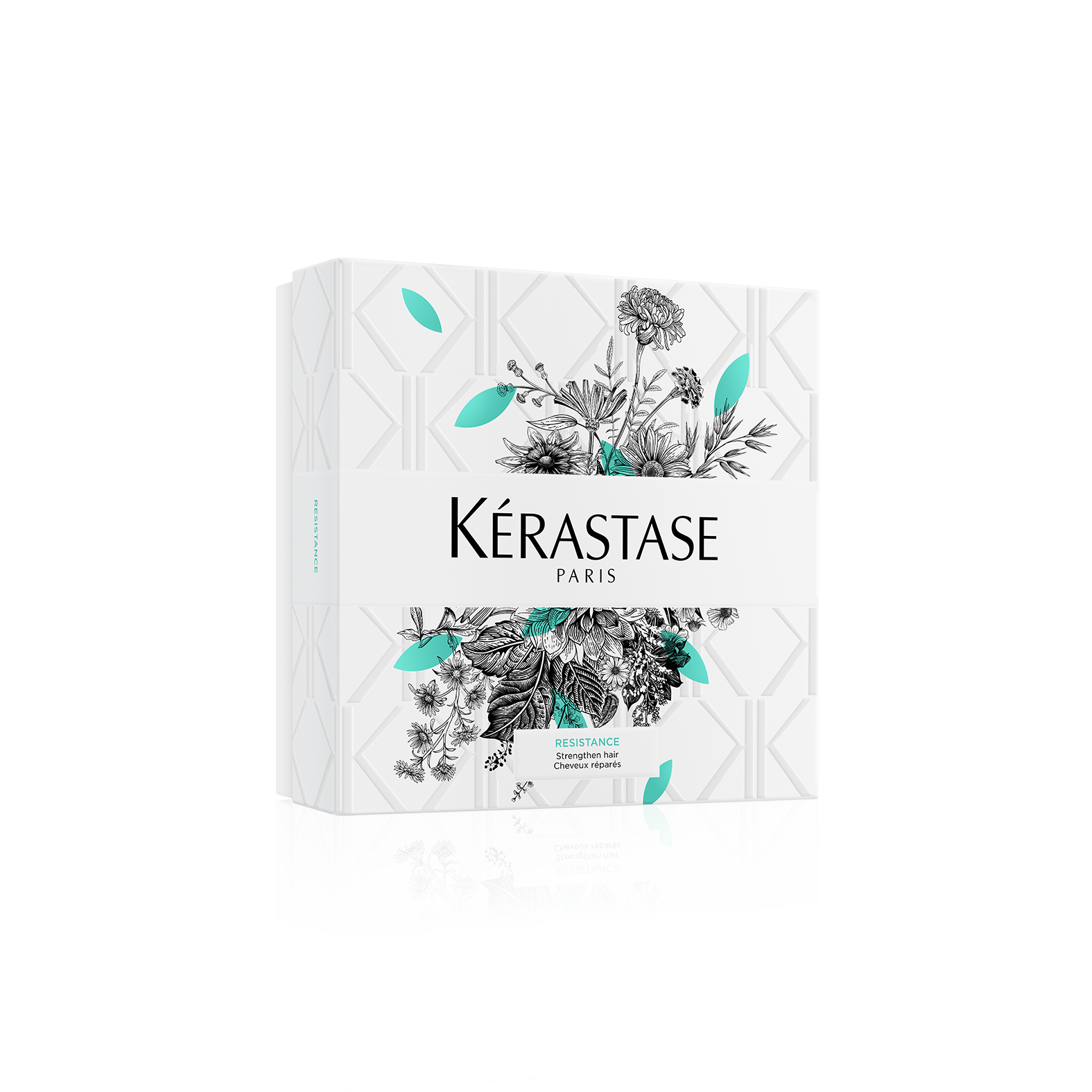 Купить Kerastase Весенний набор Форс Архитект: Шампунь-Ванна укрепляющий для сильно поврежденных волос 250 мл + Маска 200 мл (Kerastase, Resistance), Франция