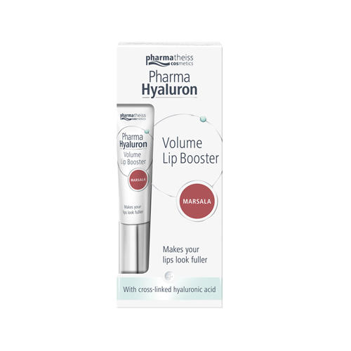 Бальзам для объема губ марсала Lip Booster 7 мл (Pharma Hyaluron, Lip Booster) 3lab healthy glow бальзам для губ с эффектом объема здоровое сияние healthy glow бальзам для губ с эффектом объема здоровое сияние
