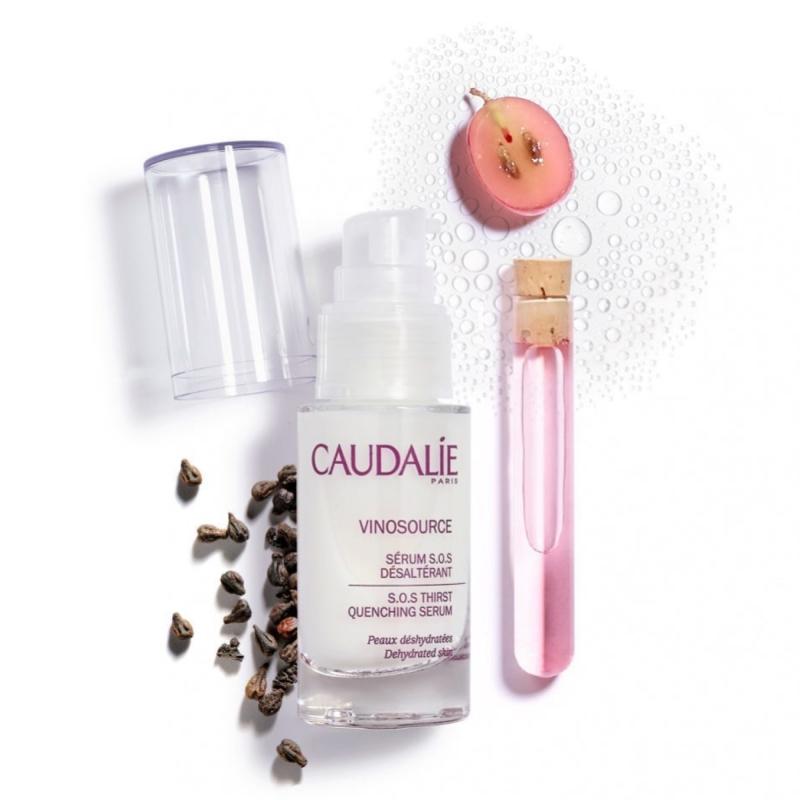 Caudalie Сыворотка для лица Vinosource увлажняющая для сухой кожи, 30 мл (Caudalie, Vinosource)