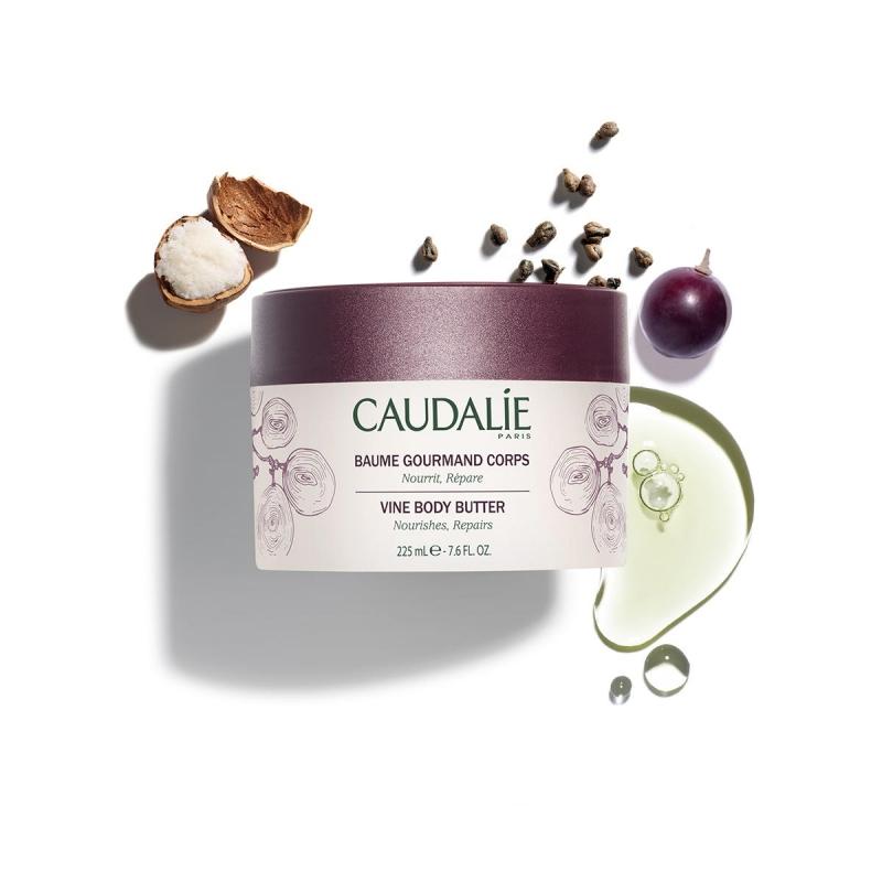 Caudalie Бальзам для тела увлажняющий для сухой кожи, 225 мл (Caudalie, Body)