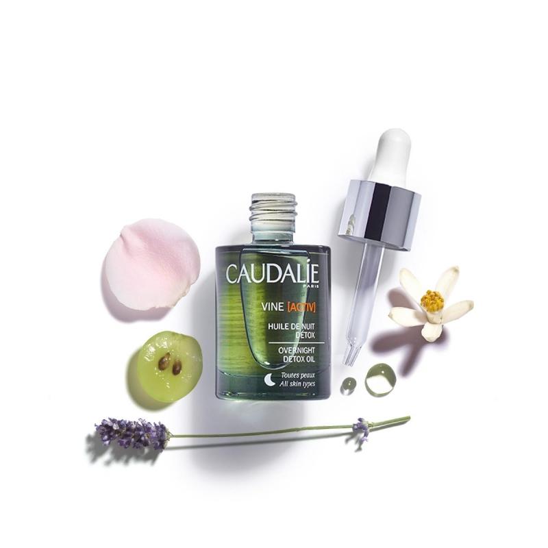 Купить Caudalie Ночное детокс-масло для лица Vine [Activ] 30 мл (Caudalie, Vine [Activ]), Франция