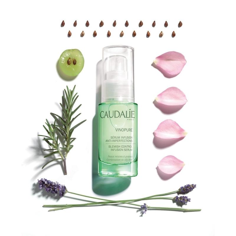 Сыворотка для лица Vinopure сужает поры улучшает текстуру для комбинированной кожи, 30 мл (Caudalie, Vinopure)