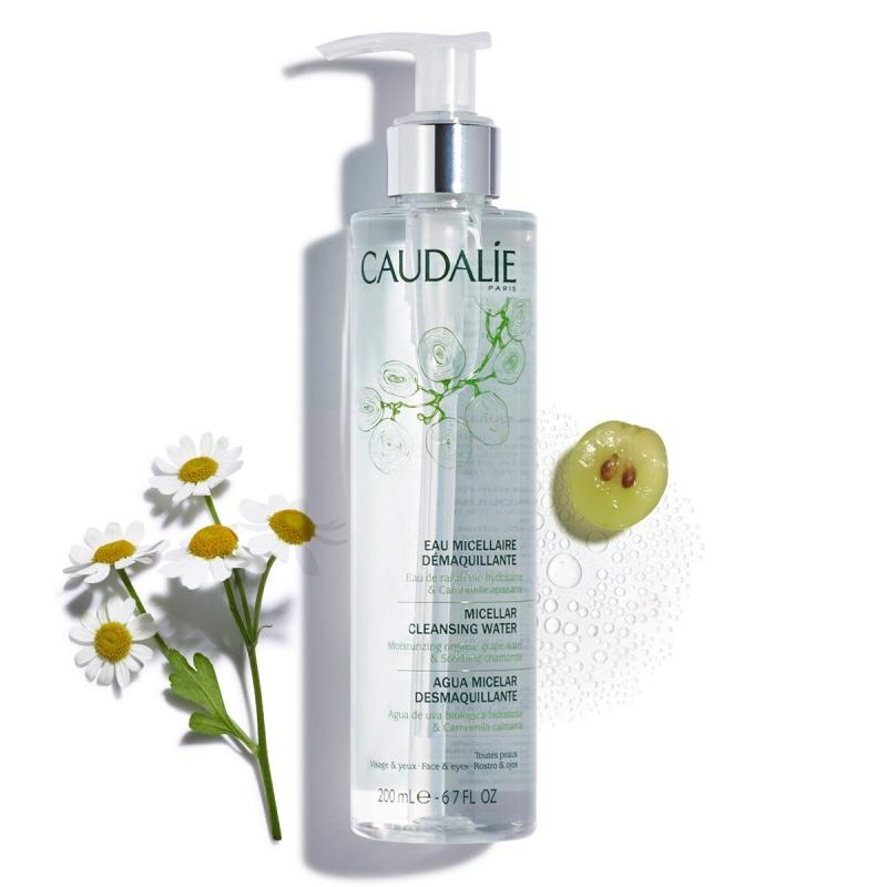Caudalie Мицеллярная вода очищающее средство для лица для всех типов кожи, 100 мл (Caudalie, Beauty To Go) caudalie beauty elixir вода