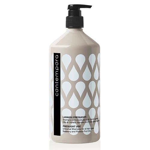 Купить Barex Шампунь универсальный для всех типов волос с маслом облепихи и маслом маракуйи 1000 мл (Barex, Contempora), Италия