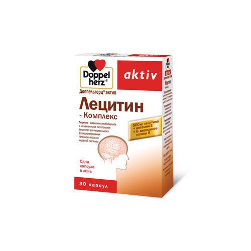 Doppelherz Лецитин  Комплекс 30 капсул (Актив)