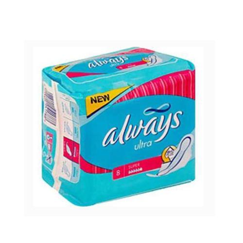 Always Прокладки Ультра супер 8 шт (Always, Ultra)