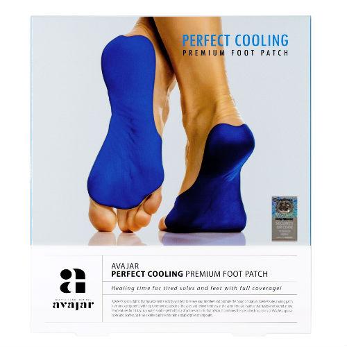 Avajar Avajar Perfect Cooling Premium Foot Patch - Охлаждающий патч для ступней ног с детокс-эффектом (Avajar, Уход для ног) фото