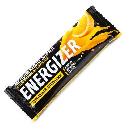 Батончикмюсли с фруктами Взрывной апельсин. Упаковка 40 г (Худеем за неделю, ENERGIZER) экстракт зеленого кофе для похудения упаковка 60 таблеток худеем за неделю биослимика