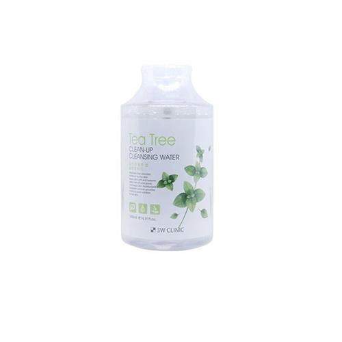 3W Clinic Очищающая вода с экстрактом чайного дерева, 500 мл (3W Clinic, Для лица)