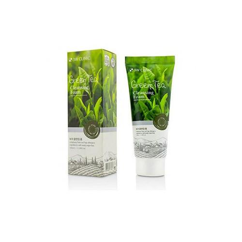Купить 3W Clinic Пенка для умывания с зеленым чаем, 100 мл (3W Clinic, Для лица)