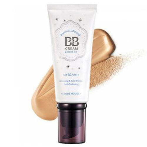 Крем ББ минеральный Precious Mineral BB Cream Cotton Fit, 60 г (Etude House, Make up) цена