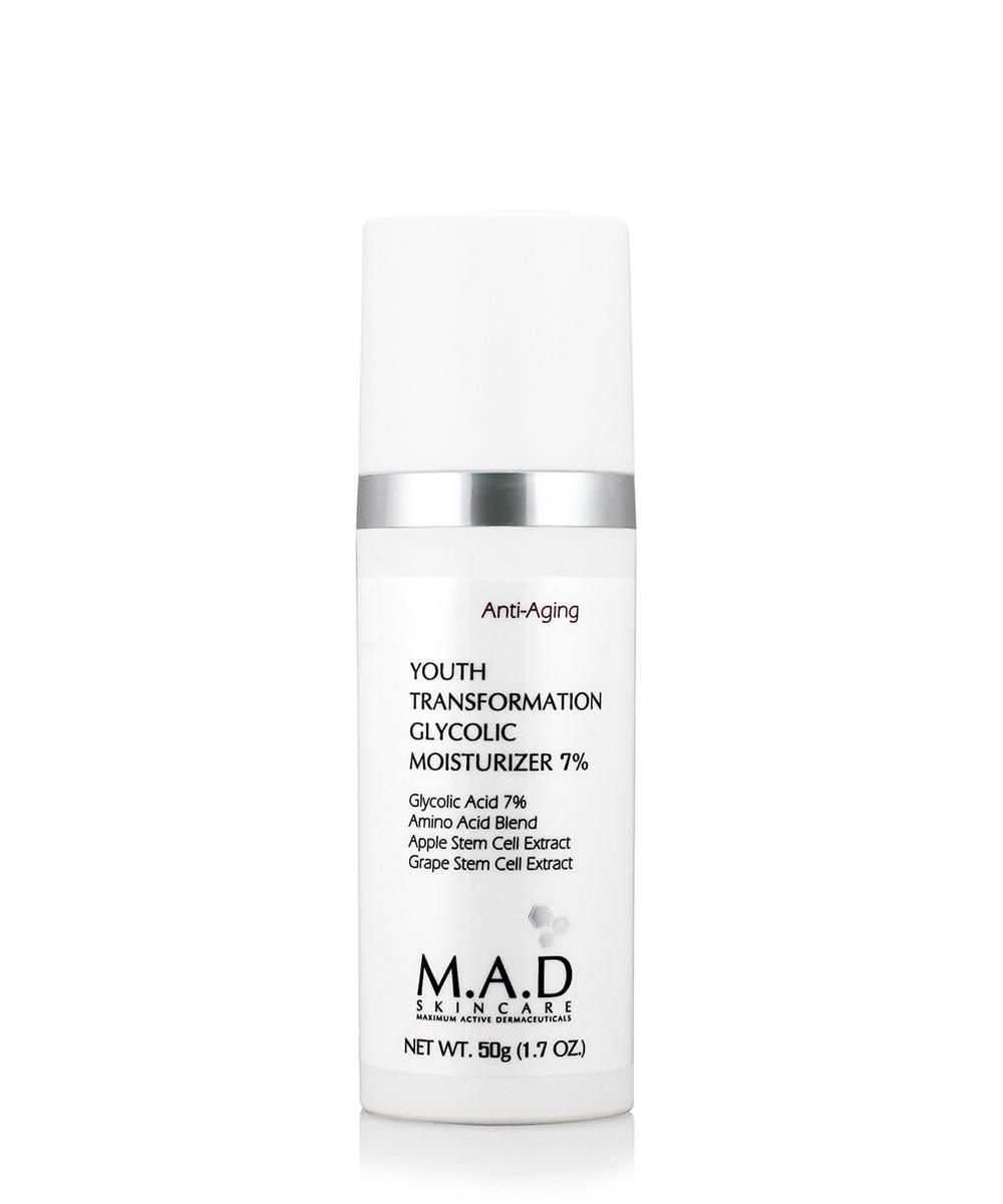 Купить M.A.D. Омолаживающий увлажняющий крем с гликолевой кислотой, 50 мл (M.A.D., Anti-Age)