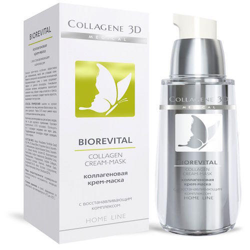 Collagene 3D Крем-маска для лица 30 мл (BioRevital)